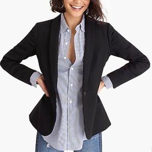 J. CREW Black Wool Blazer Size 6. EUC